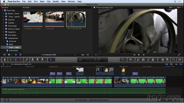 Using sequences as source material in FCP X: Video Post Tips Weekly