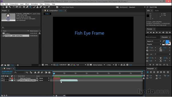 Importing into After Effects: Animation with Rhino and Bongo