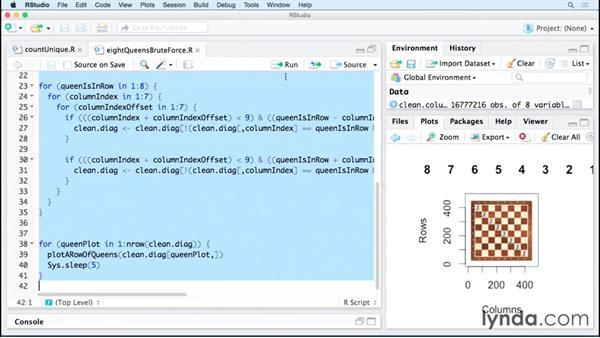 Visualizing the solution: Code Clinic: R