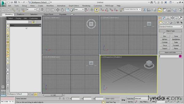 Customize user interface and defaults: 3ds Max 2016 Essential Training