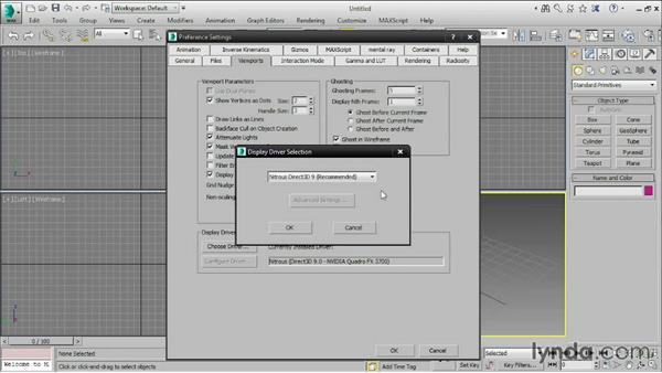 Setting preferences: 3ds Max 2016 Essential Training