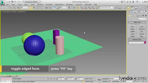 Configuring viewports: 3ds Max 2016 Essential Training