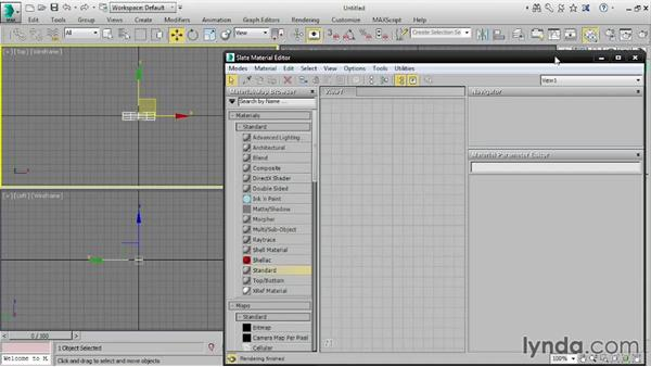 Creating an image plane: 3ds Max 2016 Essential Training
