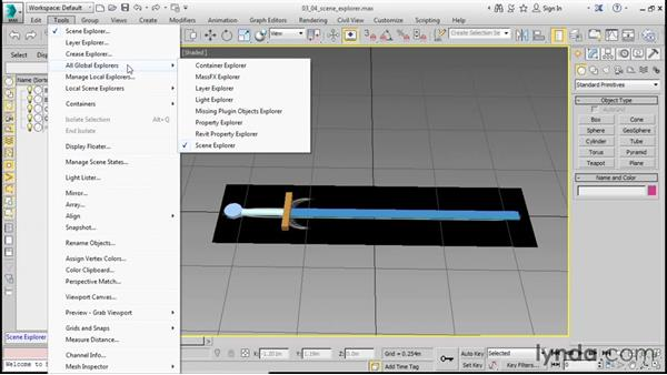 Controlling Display properties: 3ds Max 2016 Essential Training