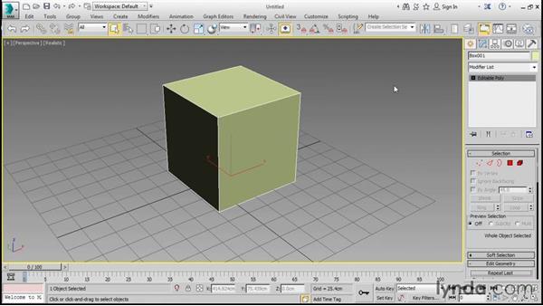 Understanding subdivision surfaces: 3ds Max 2016 Essential Training