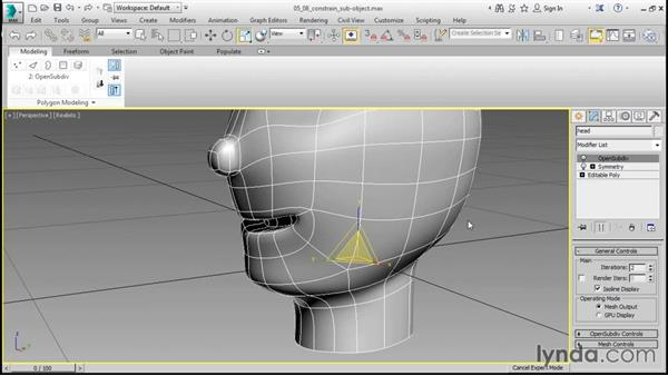 Constraining Sub-object transforms: 3ds Max 2016 Essential Training