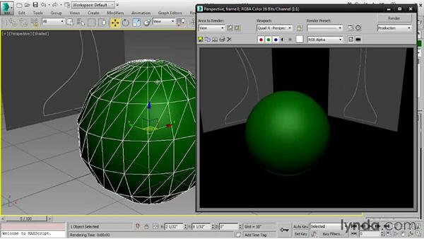 Cloning subobjects: 3ds Max 2016 Essential Training