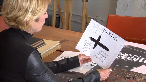 Gothic design: Creative Inspirations: Margo Chase, Graphic Designer