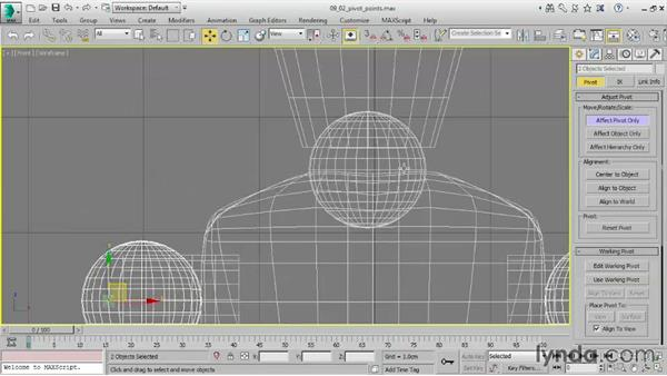 Understanding coordinate systems: 3ds Max 2016 Essential Training