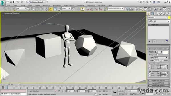 Correcting gamma: 3ds Max 2016 Essential Training