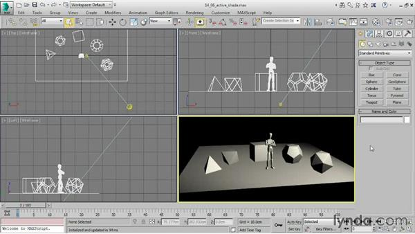Controlling contrast and highlights: 3ds Max 2016 Essential Training