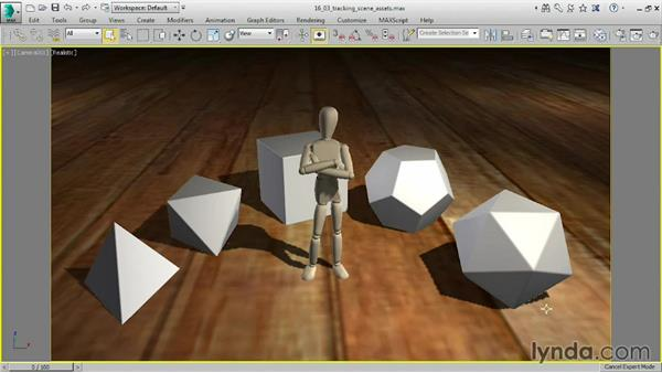 Tracking scene assets: 3ds Max 2016 Essential Training