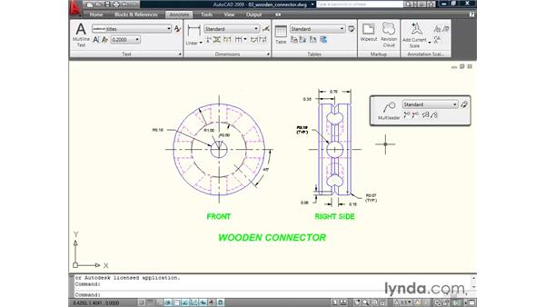 Understanding the ribbon: AutoCAD 2009 New Features