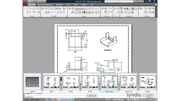 Navigating with quick view layouts: AutoCAD 2009 New Features