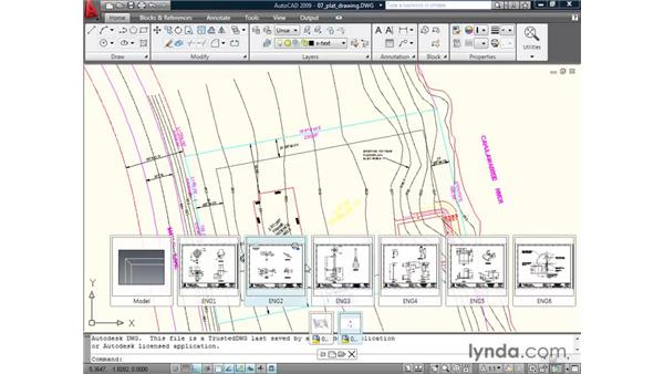 Navigating with quick view drawings: AutoCAD 2009 New Features