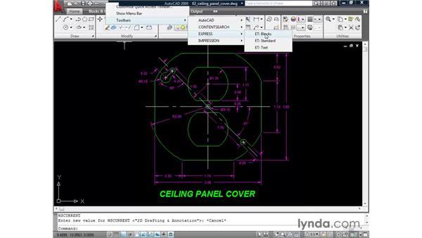 Restoring toolbars: AutoCAD 2009 New Features