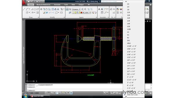 Exploring additional interface changes: AutoCAD 2009 New Features