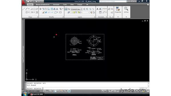 Automating tasks with the action recorder: AutoCAD 2009 New Features