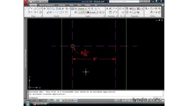 Panning and zooming array previews: AutoCAD 2009 New Features