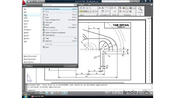 Exploring additional tool changes: AutoCAD 2009 New Features