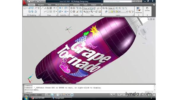 Adding a background: AutoCAD 2009 New Features