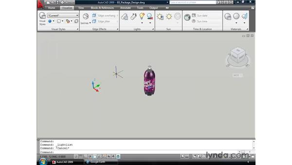 Exploring additional visualization changes: AutoCAD 2009 New Features