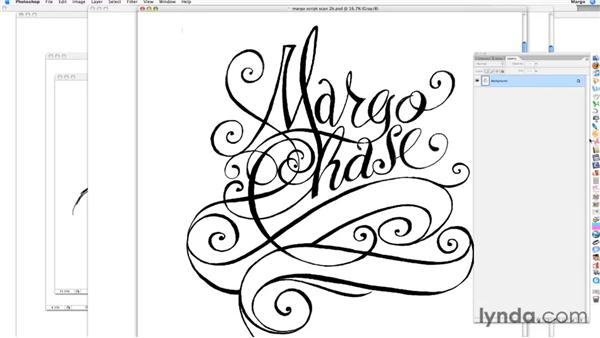: Margo Chase's Hand-Lettered Poster: Start to Finish
