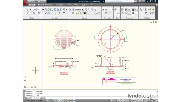 Using the command line: AutoCAD 2009 Essential Training