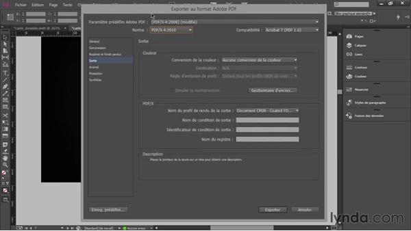 Fusionner Et Exporter Au Format PDF Crer Une Carte De Visite Professionnelle Avec InDesign CC
