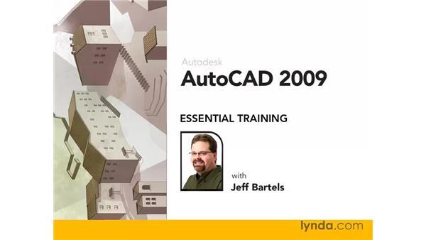 Goodbye: AutoCAD 2009 Essential Training