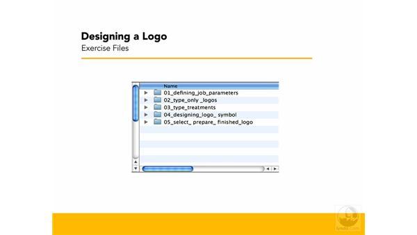 Exercise files: Designing a Logo