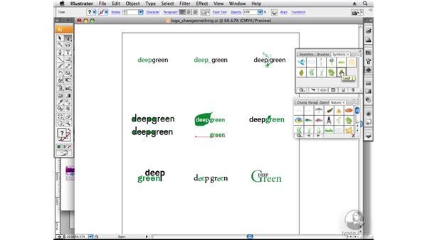 Changing one thing: Designing a Logo