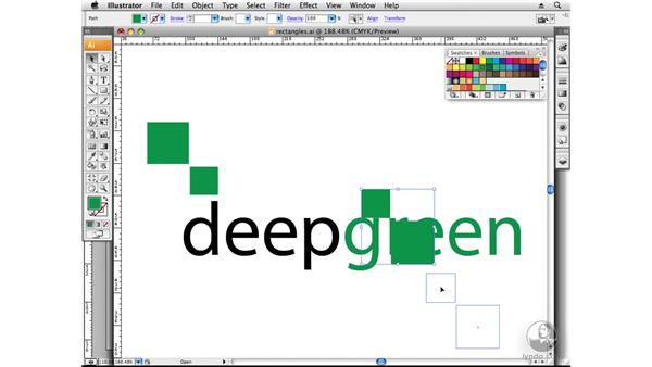 Designing with rectangles: Designing a Logo