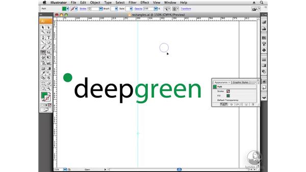 Designing with circles and ellipses: Designing a Logo