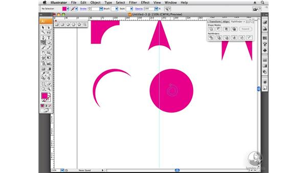 Working with abstract imagery: Designing a Logo
