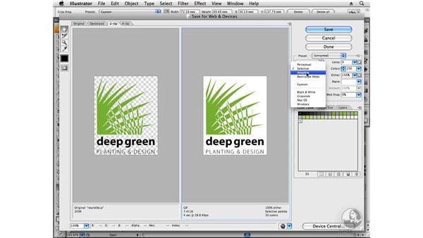 Preparing web files: Designing a Logo