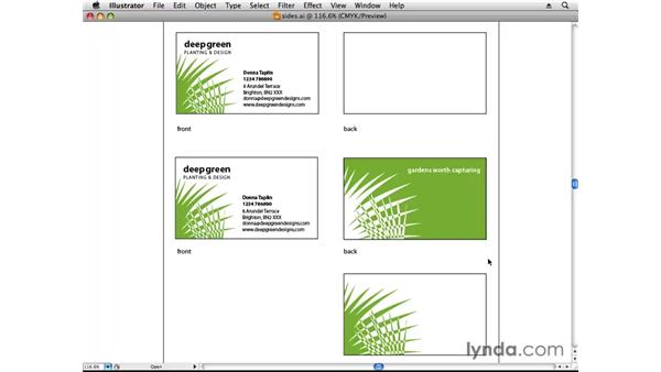 One- or two-sided?: Designing a Business Card With Illustrator CS3