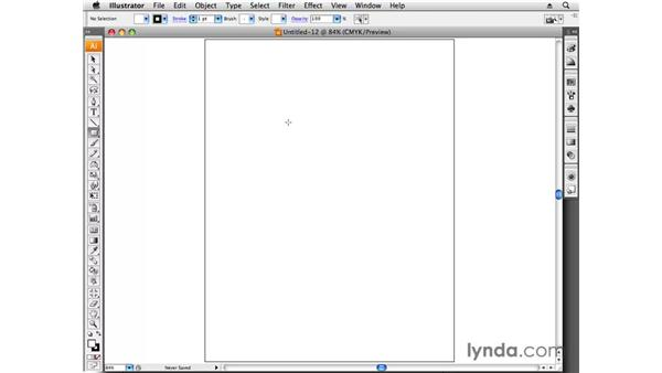 Setting up the template: Designing a Business Card With Illustrator CS3