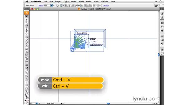 Prepping for print: Designing a Business Card With Illustrator CS3