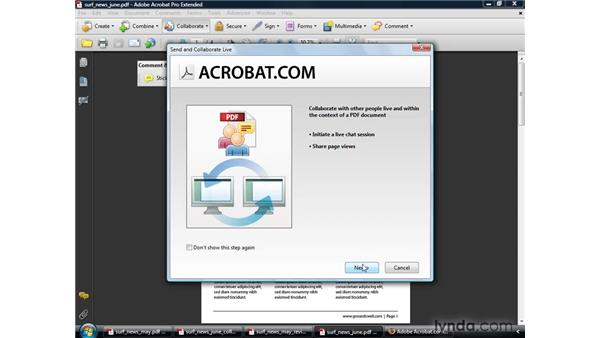 Working better with everyone: Acrobat 9 Pro Getting Started