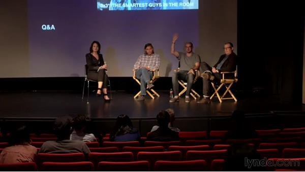 Panel discussion and Q&A, part 1: Real-World Design: Live Presentations from Creative Leaders