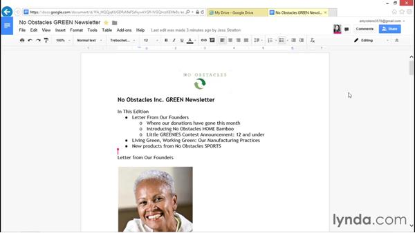 Suggesting edits instead of tracking changes: Migrating from Office 2010 to Google Apps
