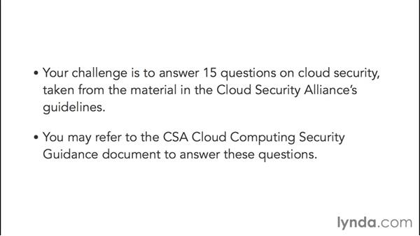 Challenge: Cloud security knowledge: Cybersecurity with Cloud Computing