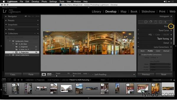 The Spherical method: Creating Panoramas with Lightroom
