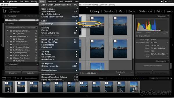 Running in Headless mode: Creating Panoramas with Lightroom