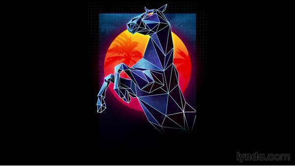 James White's Laser Horse Illustration: Start to Finish - Film: James White's Laser Horse Illustration: Start to Finish