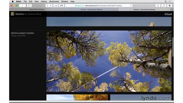 Using iCloud Photo Sharing: Up and Running with Photos for OS X