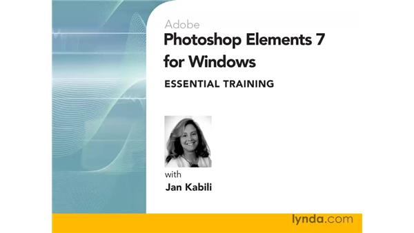 : Photoshop Elements 7 for Windows Essential Training