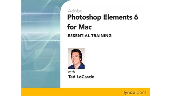 Welcome: Photoshop Elements 6 for Mac Essential Training