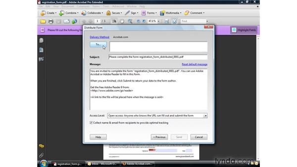 Simplifying form creation: Acrobat 9 Pro Getting Started
